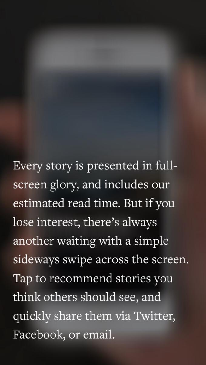 Блог-платформа Medium запустила мобильное приложение . Изображение № 2.