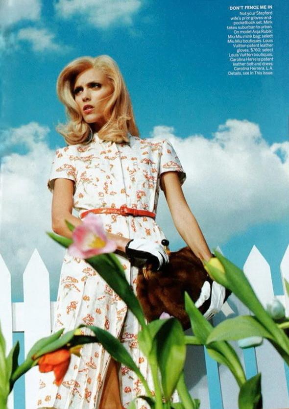 Съёмка: Аня Рубик для Vogue. Изображение № 3.