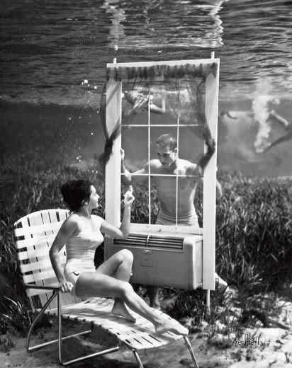 Подводные фотографии Bruce Mozertom 1938 года. Изображение № 1.