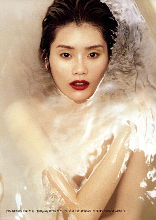Съёмка: Мин Си для китайского Vogue. Изображение № 3.