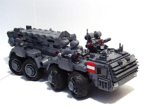 48 креативных LEGO творений. Изображение № 33.