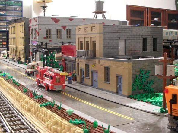 Изображение 14. Улицы Нью-Йорка из конструктора LEGO.. Изображение № 14.