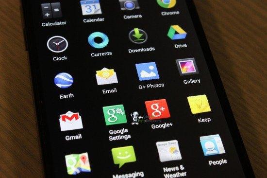 Опубликованы новые фотографии интерфейса Android KitKat. Изображение № 4.