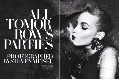 ALL TOMORROW'S PARTIES: Vogue Italia, June 2009. Изображение № 2.