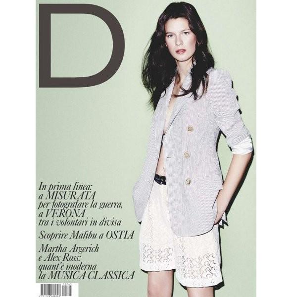 Изображение 1. Обложки: D, Numero и L'Officiel.. Изображение № 1.