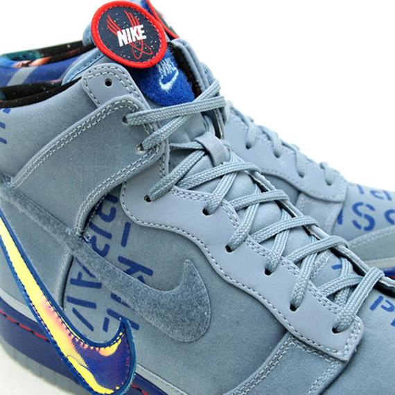 Nike Dunk High Premium QS All-Star 2012 Pack. Изображение № 3.