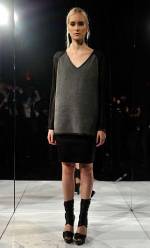 Lublu Kira Plastinina FW 2011 на показе на Нью-Йоркской неделе моды. Изображение № 24.