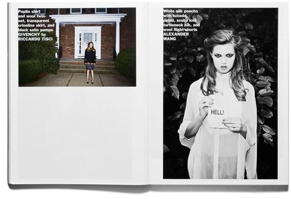 Съёмка: Терри Ричардсон и Линдси Уикссон для Purple Fashion. Изображение № 7.