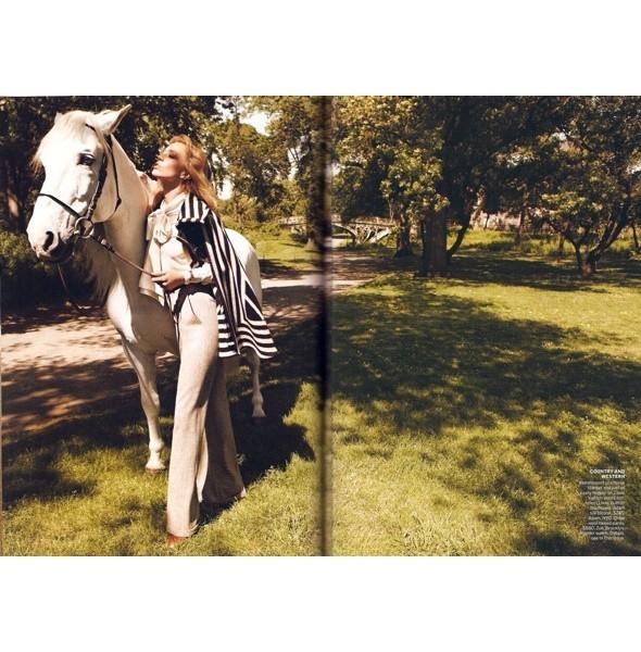 5 новых съемок: Dazed & Confused, Harper's Bazaar и W. Изображение № 37.