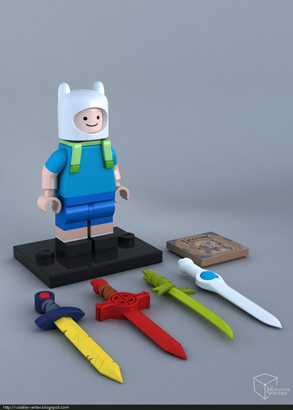 Концепт: персонажи Adventure Time в LEGO. Изображение № 4.