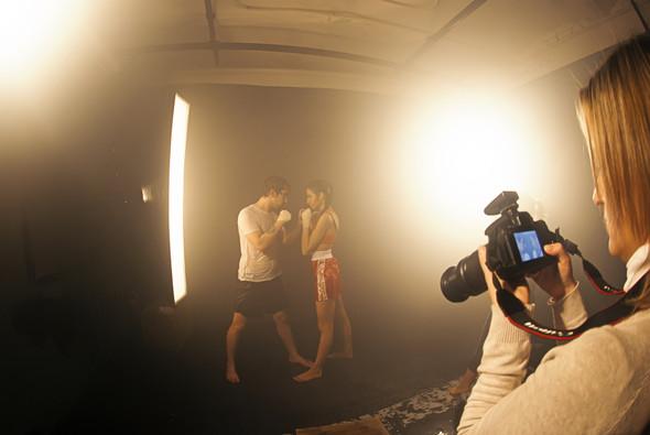"""Бэкстейдж со съёмок в аква студии в духе """"бойцовского клуба"""". Изображение № 3."""