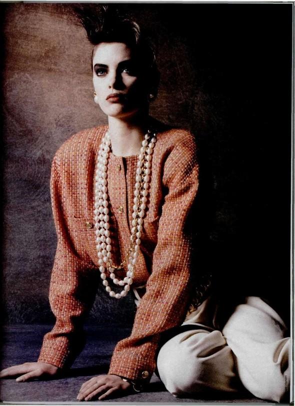 Архивная съёмка: Беате Ханзен для L'Officiel, 1986. Изображение № 5.