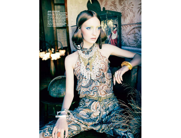 Коди Янг в австралийском Vogue, апрель 2011. Изображение № 21.