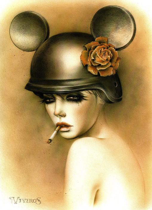 Brian M. Viveros - Американский художник. Изображение № 2.