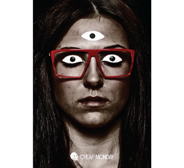 Изображение 1. Glasses news: новая коллекция Cheap Monday и Агата Сноу для Mykita.. Изображение № 1.