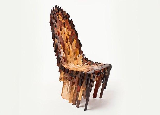 Глитч-мебель: красивые компьютерные ошибки в интерьере. Изображение № 34.