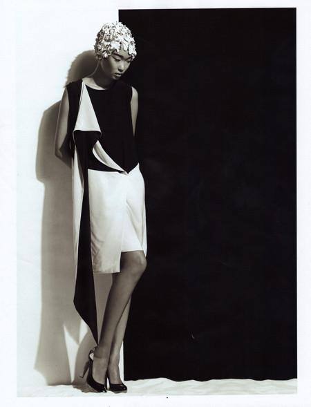 Бибисара Шарипова для Elle magazine. Изображение № 1.