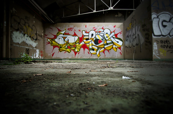 Стрит-арт от Iemza. Изображение № 3.