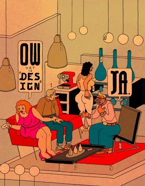 Иллюстрации Stefan Glerum для Obey. Изображение № 2.