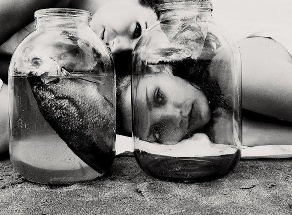 ЮляНиконова «Рыбы нельют слез, онивних живут». Изображение № 10.