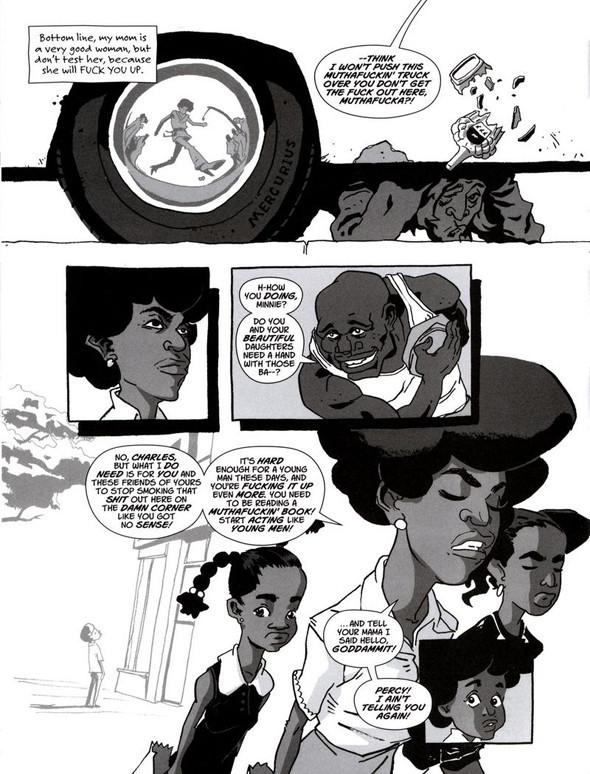 Комиксы легенды хип-хопа. Изображение № 14.
