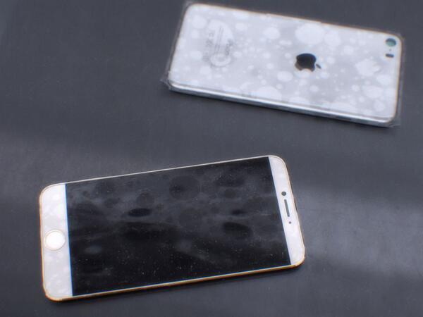 Опубликованы первые фотографии с возможным видом iPhone 6. Изображение № 3.