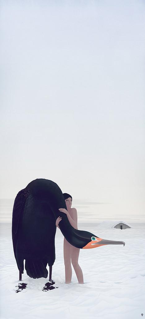 Grape Frogg. Цветные картинки с черно-белым настроением. Изображение № 4.