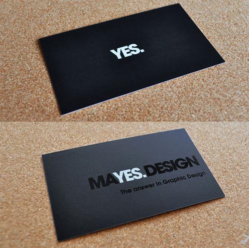 Изображение 35. 69 визиток, которые хочется подержать в руках.. Изображение № 35.