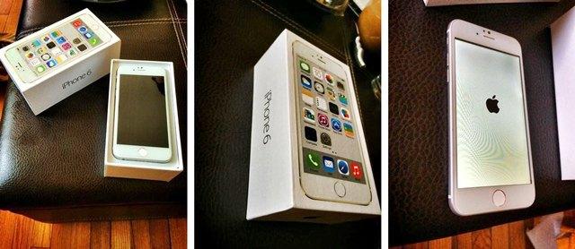 В Сети появились фото якобы настоящей коробки iPhone 6 . Изображение № 1.