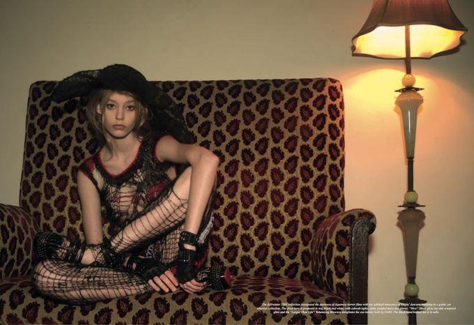 Dazed & Confused, Fat, Vogue и другие журналы выпустили новые съемки. Изображение № 15.