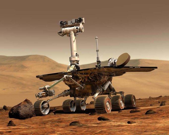 NASA отформатирует память марсохода Opportunity. Изображение № 1.