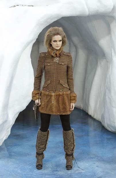 Ледяное шоу от Chanel. Изображение № 7.
