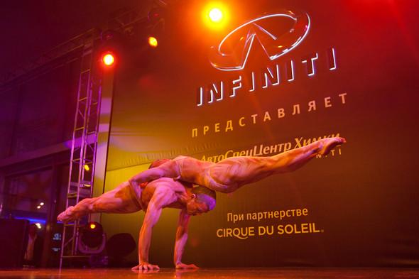 Cirque du Soleil на открытии дилерского центра INFINITI. Изображение № 13.