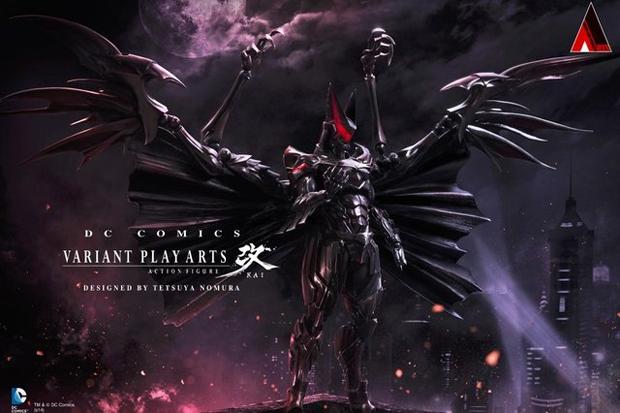 Дизайнер Final Fantasy нарисовал свою версию Бэтмена. Изображение № 1.