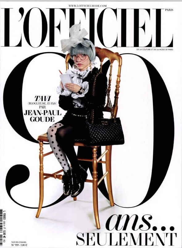 Обложки: Тави Гевинсон на L'Officiel и Лара Стоун на i-D. Изображение № 1.