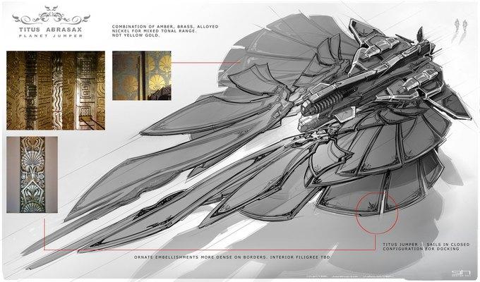 Художник «Восхождения Юпитер» выложил концепты к фильму. Изображение № 36.