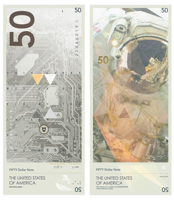 Американец представил редизайн доллара США. Изображение № 5.