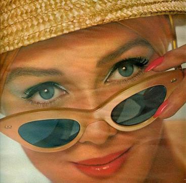 Изображение 1. Мода 60х: макияж.. Изображение № 1.