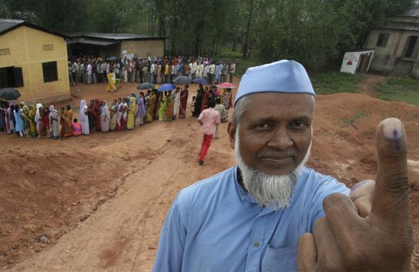 100 лет выборов в документальных фотографиях. Изображение № 128.