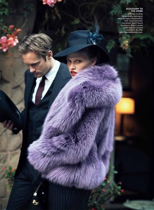 Изображение 43. Съёмки: Harper's Bazaar, Vogue, W и другие.. Изображение № 42.