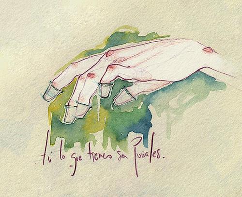 Чувства; карандашом и акварелью. Изображение № 15.