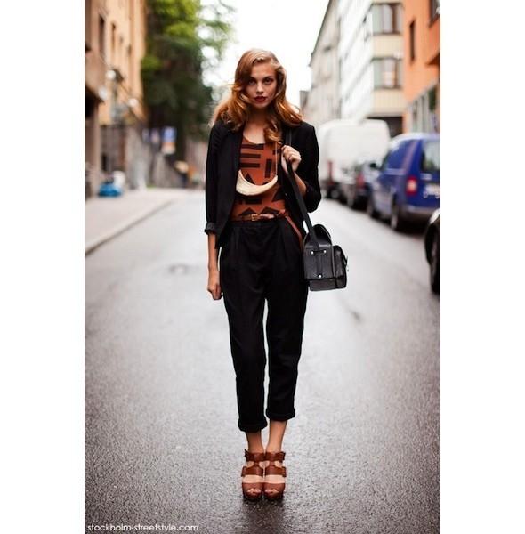 Луки с недель моды в Копенгагене и Стокгольме. Изображение № 55.