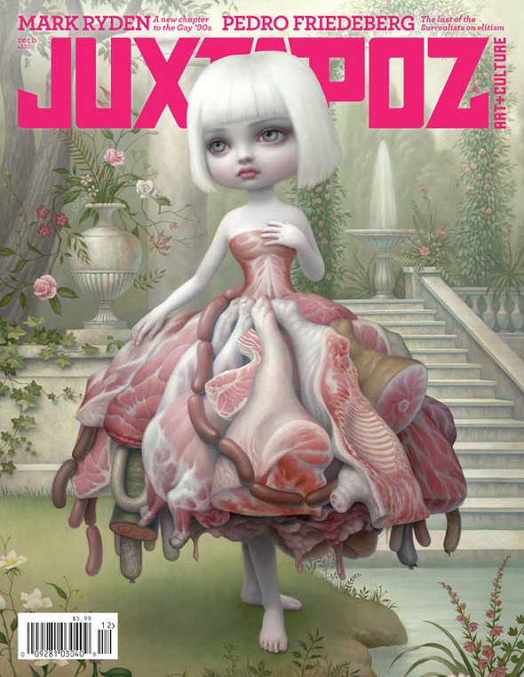 Самые красивые обложки журналов в 2011 году. Изображение № 40.