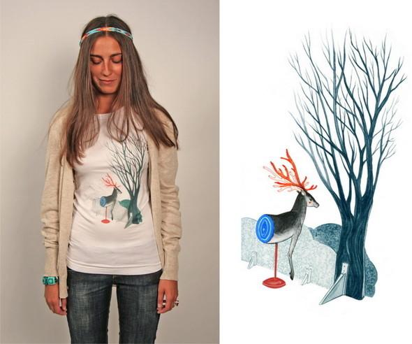 Дизайнерские футболки отT-store. Изображение № 12.