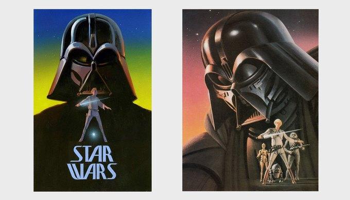 Кто нарисовал постеры к «Звёздным войнам»  и Вуди Аллену. Изображение № 2.