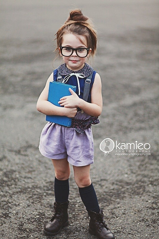 Hipster little kids