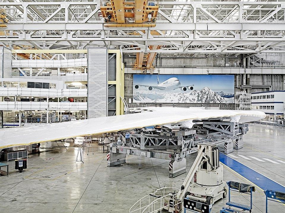 Фото: как собирают самолёты Airbus. Изображение № 6.
