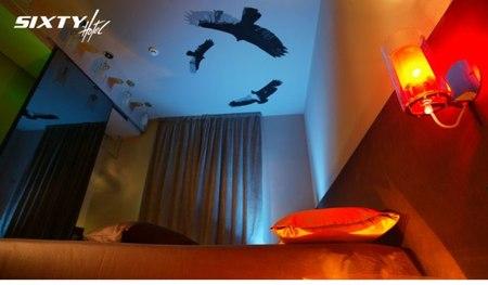 Отель-магазин синдивидуальной отделкой каждого номера. Изображение № 7.