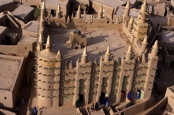 Сельская мечеть в Мали. Изображение № 27.