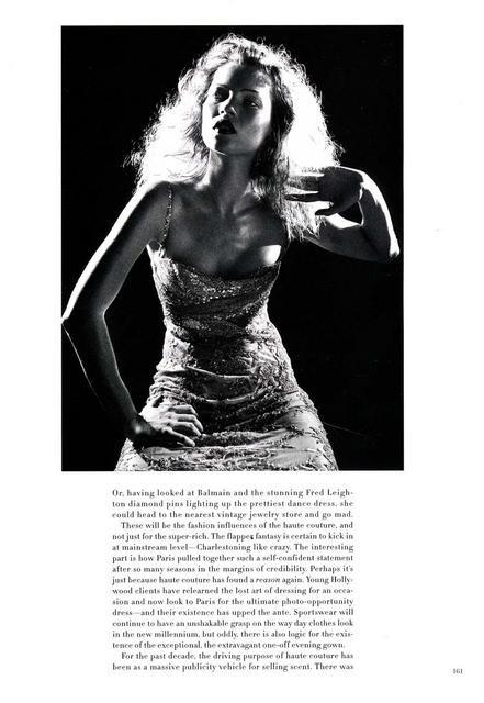 Архивная съёмка: Кейт Мосс для Harper's Bazaar, апрель 1998. Изображение № 10.